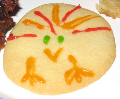 turkey cookie by Ian and Ann