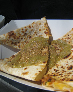 black jack quesadilla
