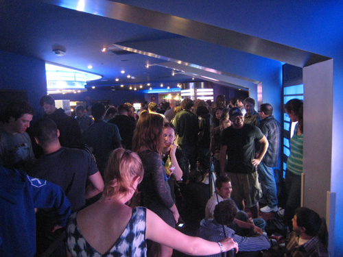 Long Line at Inception Showing
